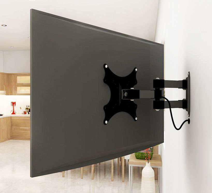 Tv Ideal: Adjustable TV Wall Mount Arm. Perfect For A Tiny House