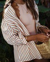 25 JULIE SARIÑANA Julie Williams auf Instagram Die perfekten Streifen Sé