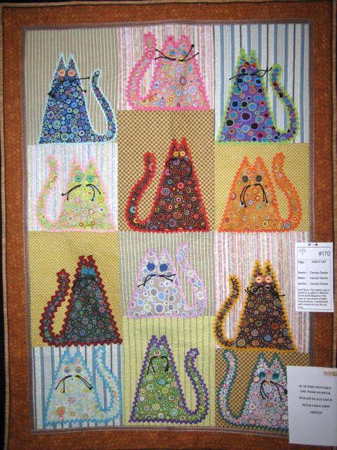 Fat+Cat+Quilt+Patterns | Free quilt patterns, low priced quilt ... : applique cat quilt patterns - Adamdwight.com