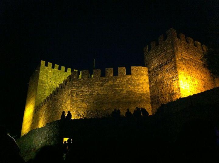 Castelo de Leiria em Leiria, Leiria