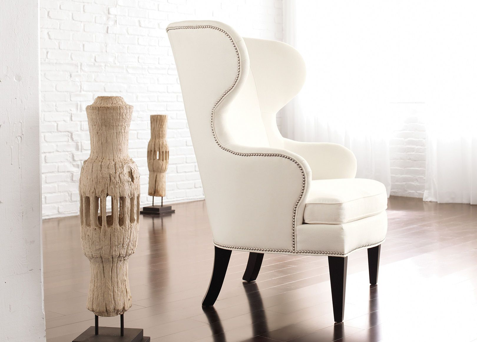 Rand Wing Chair Ethan Allen Living Room Chairs Accent Chairs