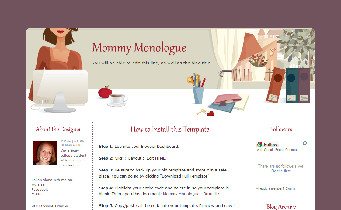 Mommy monologue by the pixelista free blogger templates pinterest mommy monologue by the pixelista pronofoot35fo Images
