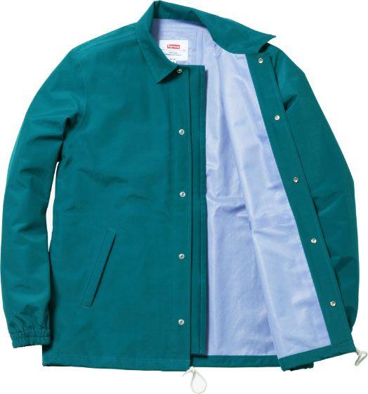 Supreme Taped Seam Coaches Jacket Coats Parka Amp Jackets