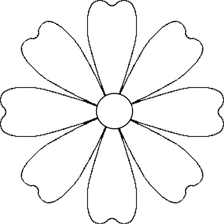Image result for daisy pattern cut out mosaic patterns for Daisy cut out template