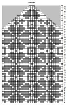 black and white knitting charts - Google-søgning