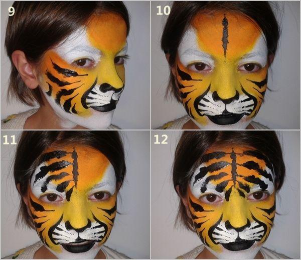 C mo pintar caras con maquillaje art stico para ni os 4 - Pinturas de cara para ninos ...