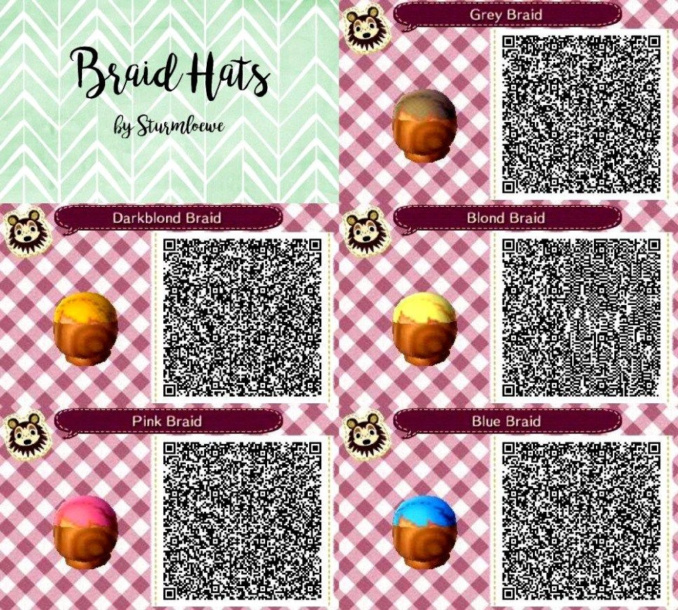 braid animal crossing qr codes hair