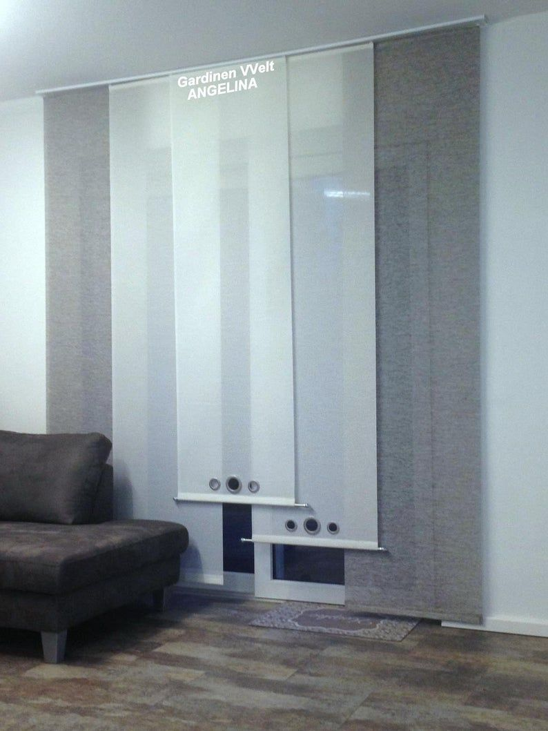 Modern Sliding Curtains In 2020 Sliding Curtains Modern Curtains Curtains With Blinds