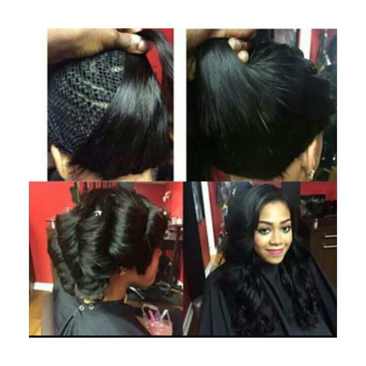 Full Sew In No Leave Out Hairstyles Pinterest Hair