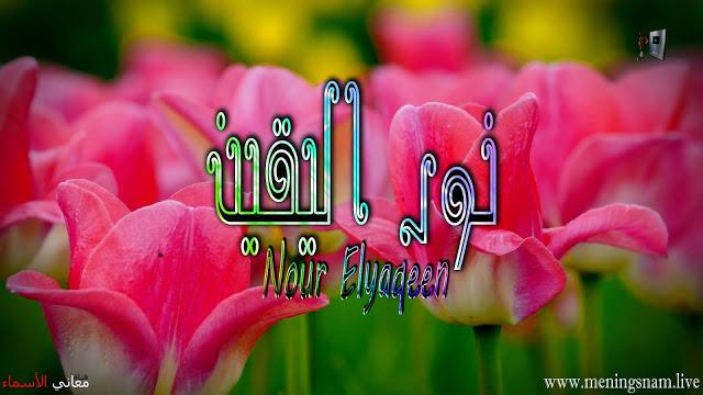 معنى اسم نور اليقين وصفات حاملة هذا الاسم Nour Elyaqeen In 2021