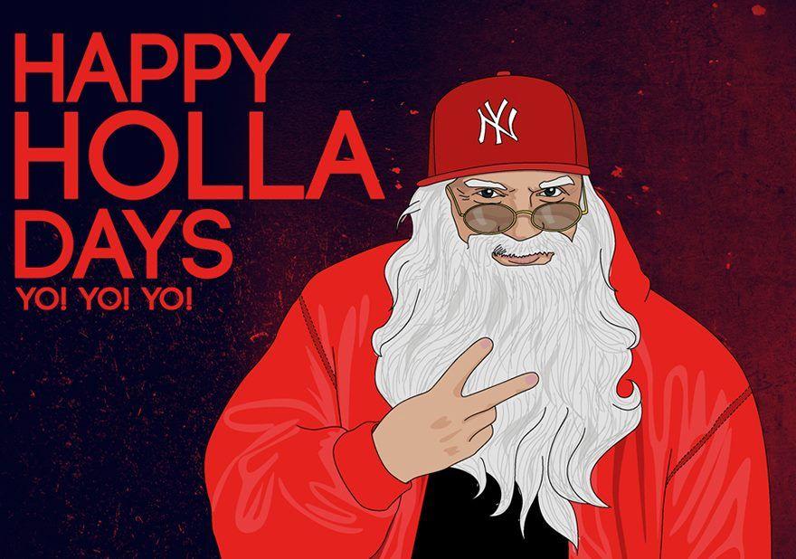 Hip Hop Santa Claus Christmas Christmas Santa Rampage