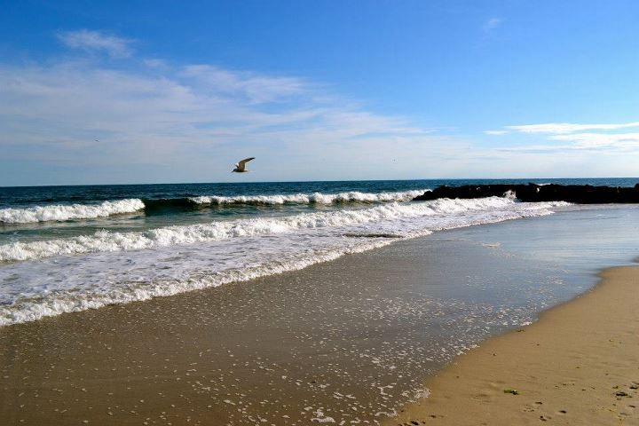 The beach. http://www.thesandsatlanticbeach.com