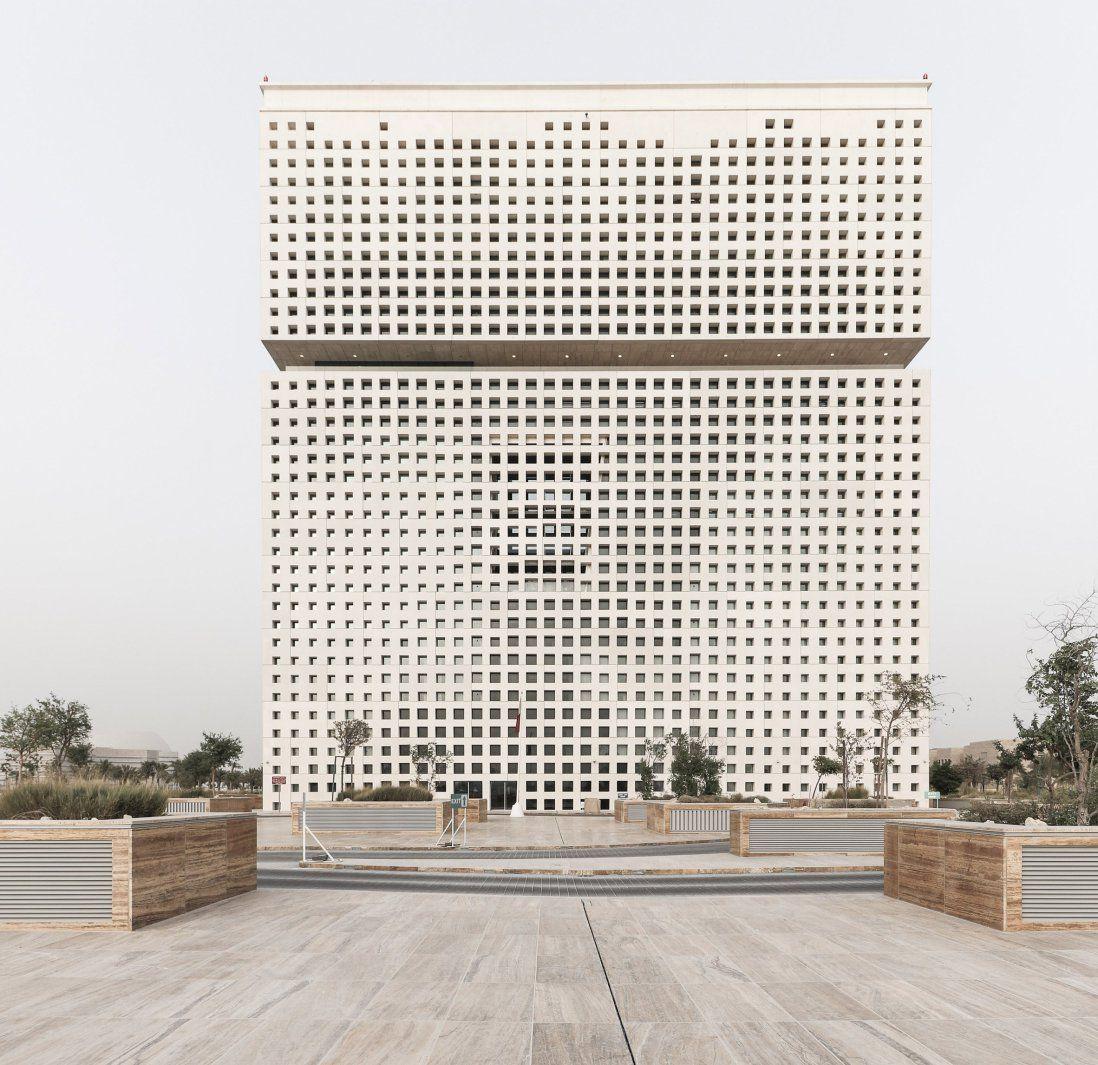 Lavorare In Qatar Architetto qatar office complex | architettura della facciata