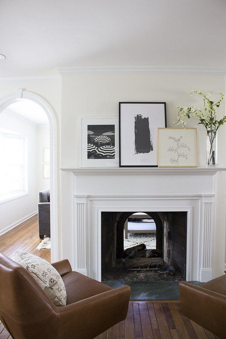 Fireplace Mantle Styled 3 Ways Double Sided Fireplace Above Fireplace Decor Fireplace Design