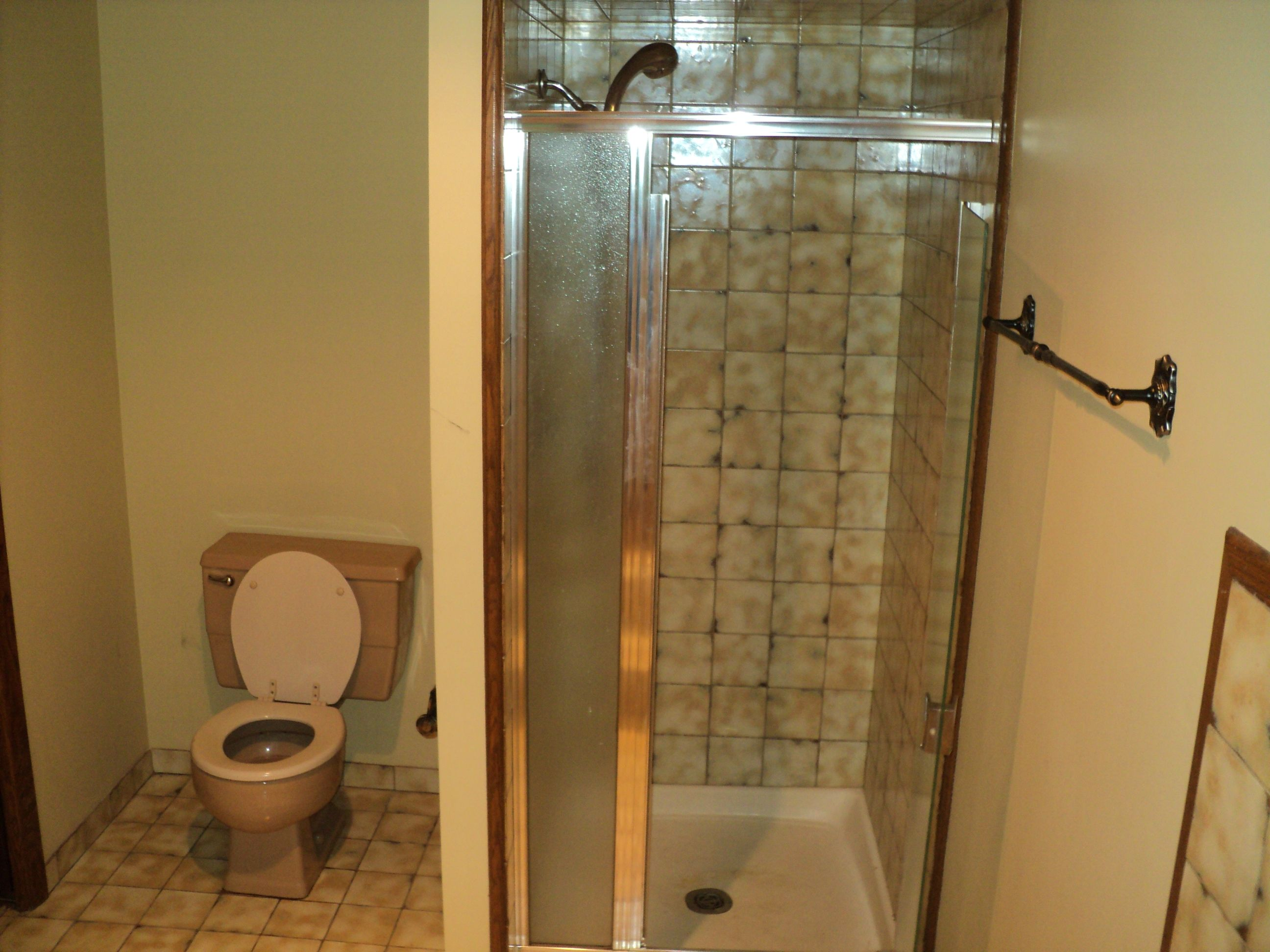 shower & toilet across from the jacuzzi tub | Master bedroom and ...