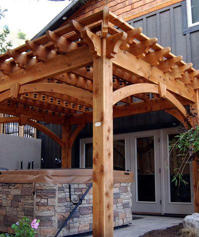 Pergola Kits & Pergola Designs, Kit Construction, Pergola Planning,  Explanation, etc. | Western Timber Frame - Pergola Kits (landing Page) Pergola Pinterest Pergola, Pergola