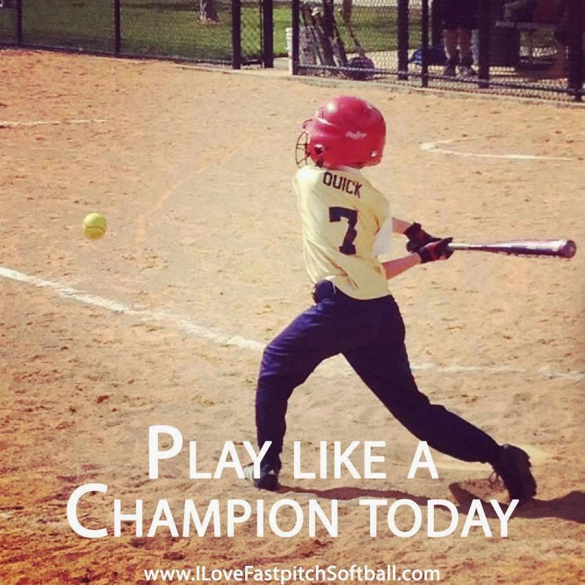 And every day FanMeme ILoveFastpitchSoftball Fastpitch