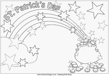 Coloring Page Saint Patrick Coloring Pages For St Patrick\'s Day ...