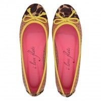 Sapatilha Pony Onça Love059ON #sapatilhas #iloveflats #flats #shoes #fashion #animalprint #onça #estampadeonça