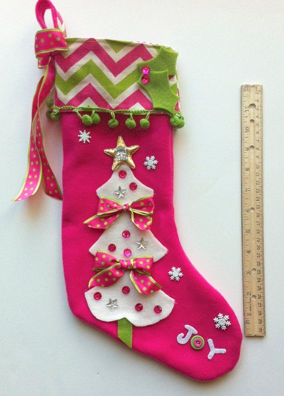 girls christmas stocking baby crafts pinterest christmas christmas stockings and xmas stockings - Girls Christmas Stocking