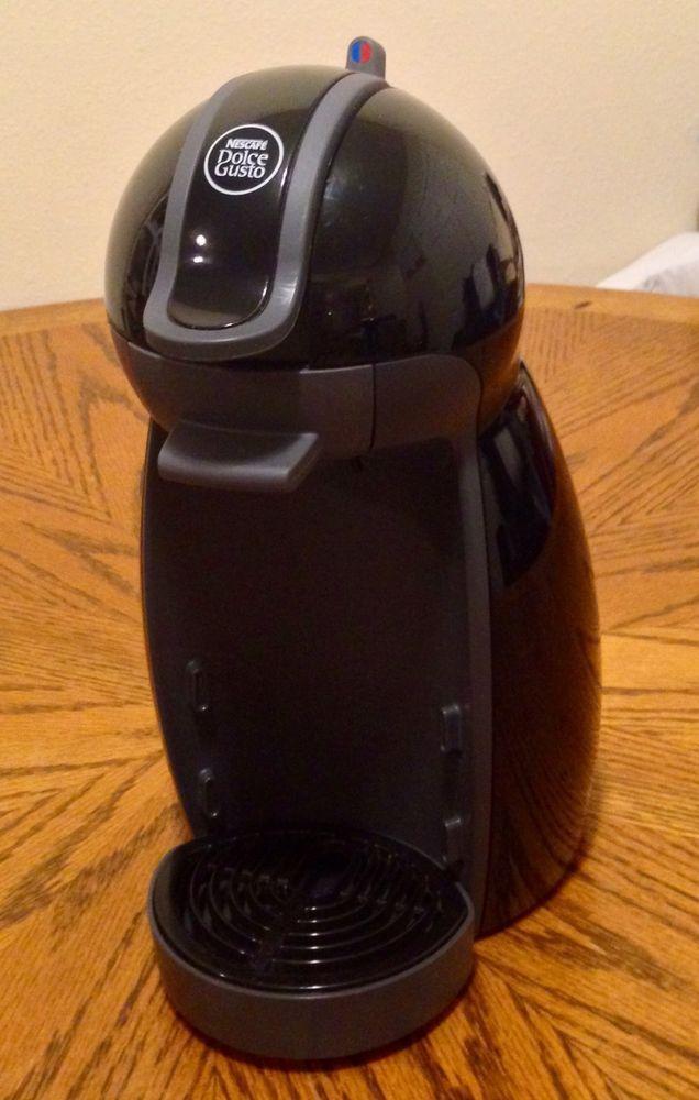 Nescafe Dolce Gusto Piccolo Model 9744 12 Automatic Coffee Machine Brewer Automatic Coffee Machine Dolce Gusto Coffee Machine