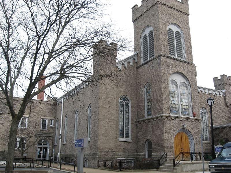 "st mary's of the cataracts church "" niagara falls ny | church on rainbow boulevard the church was built in 1849"