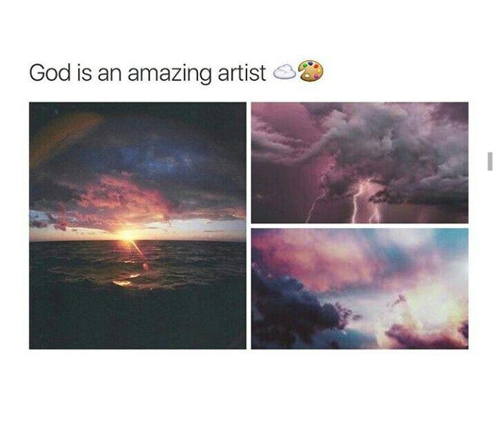 God is amazing