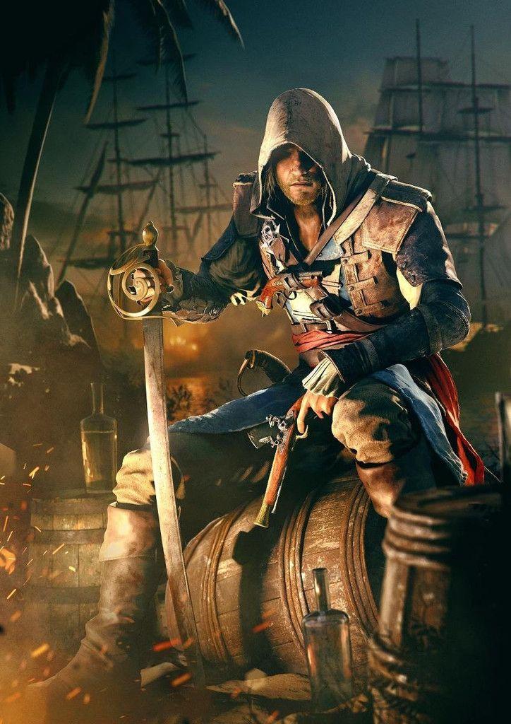 Assassin S Creed Iv Black Flag Poster Assassins Creed Black Flag Assassins Creed Art Assassin S Creed Wallpaper