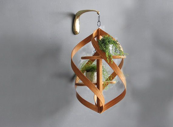 Extra Large Modern Bentwood Hanging Plant By 400 x 300
