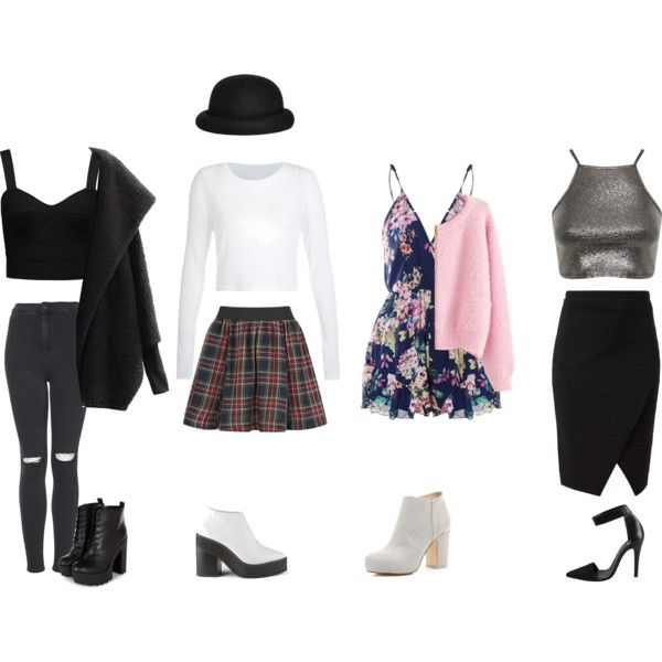'Date Night In The City' Outfit Ideas by samsus on Polyvore featuring Miss Selfridge, Forever New, Chicnova Fashion, Topshop, ONLY, River Island, Sol Sana, Pieces, Morgan and DateNight