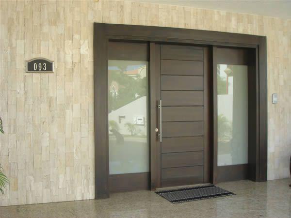 Puertas de herreria minimalistas buscar con google - Puertas exteriores de aluminio ...