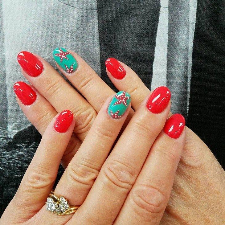 Best Starfish French Nail Design 2018 French Nails Starfish And