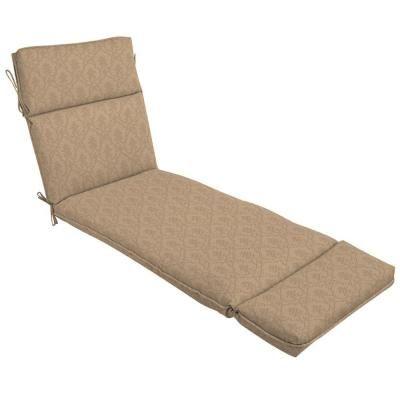 Patio Cushion Ideas Hampton Bay Bellagio Outdoor Chaise Lounge