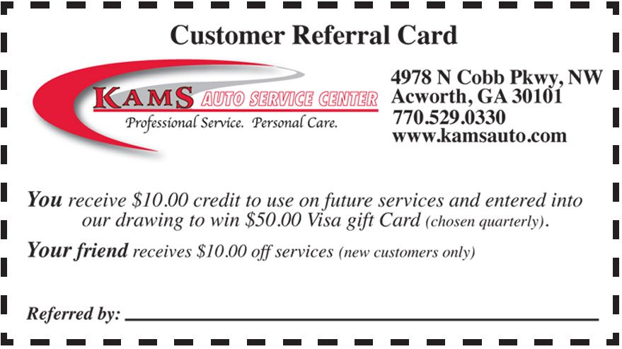 Auto Repair Coupons Acworth Ga Georgia Oil Change Coupon