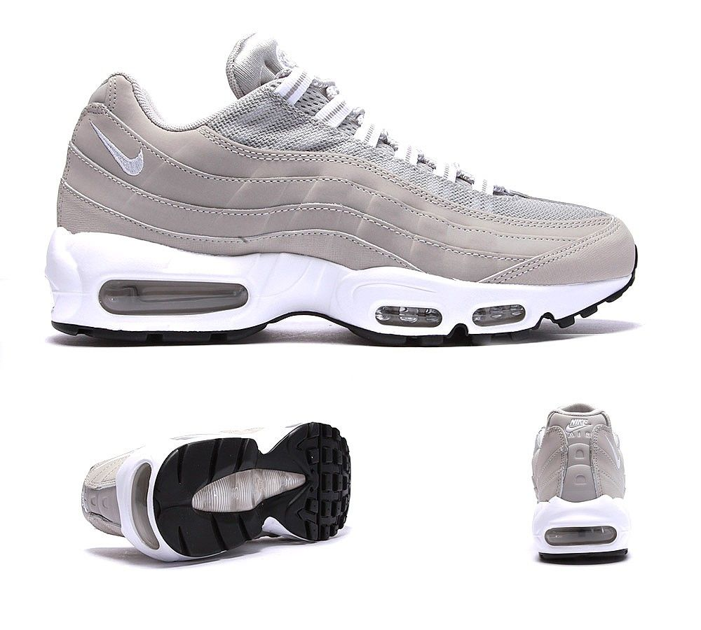 outlet store 2c3e6 89a90 ... discount code for nike air max 95 trainer granite white footasylum  0d075 049ee