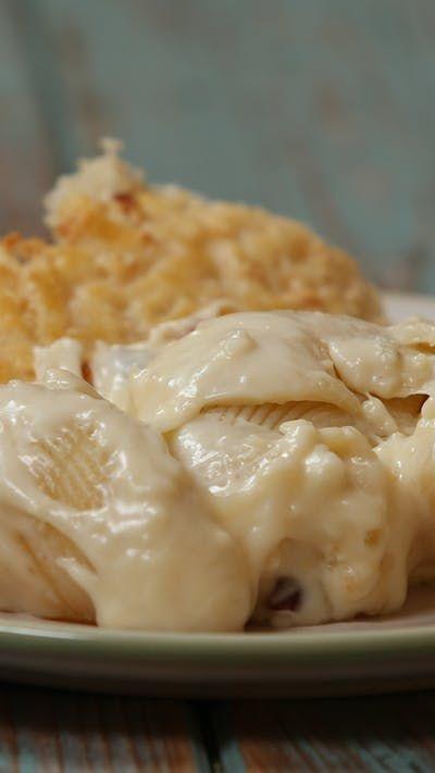 Cheesy Pasta Bake ~ Recipe