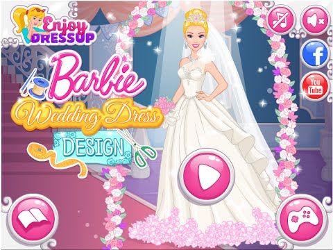 Barbie Wedding Dress Design Game Barbie Wedding Games For Girls Hd Barbie Wedding Barbie Wedding Dress Designer Wedding Dresses