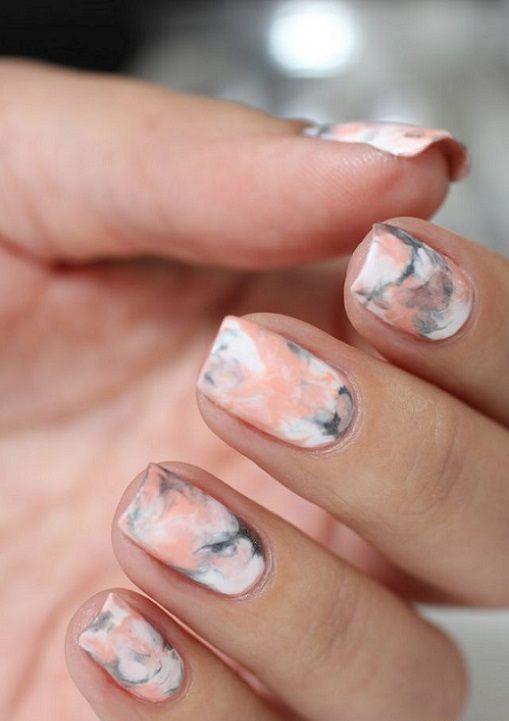 09 Best Marble Nail Ideas 2019 | Pics Bucket