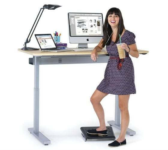 GetUP Ask for a flexible or standing desk so you can change up