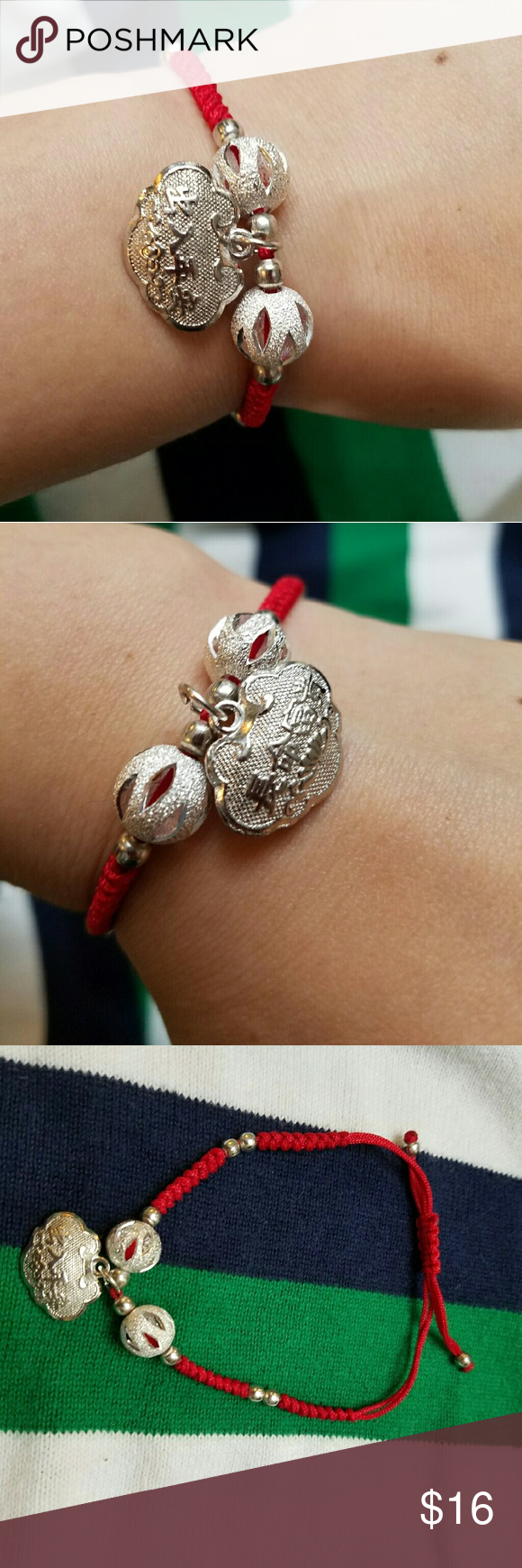 925 sterling silver baby adjustable bracelet NWT | My Posh Closet ...
