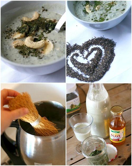 les cuisines de garance: petit déjeuner santé : porridge de