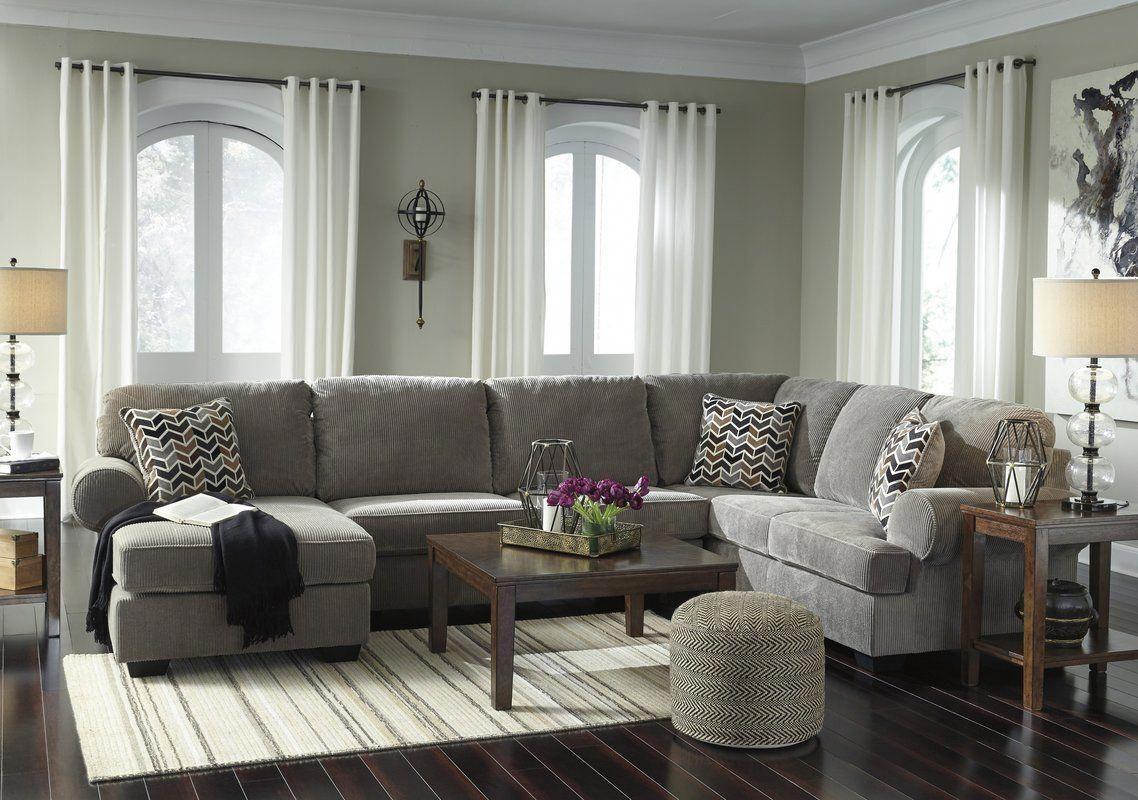 Ellicottville U-Shaped Sectional #elegantlivingroomdecor ...