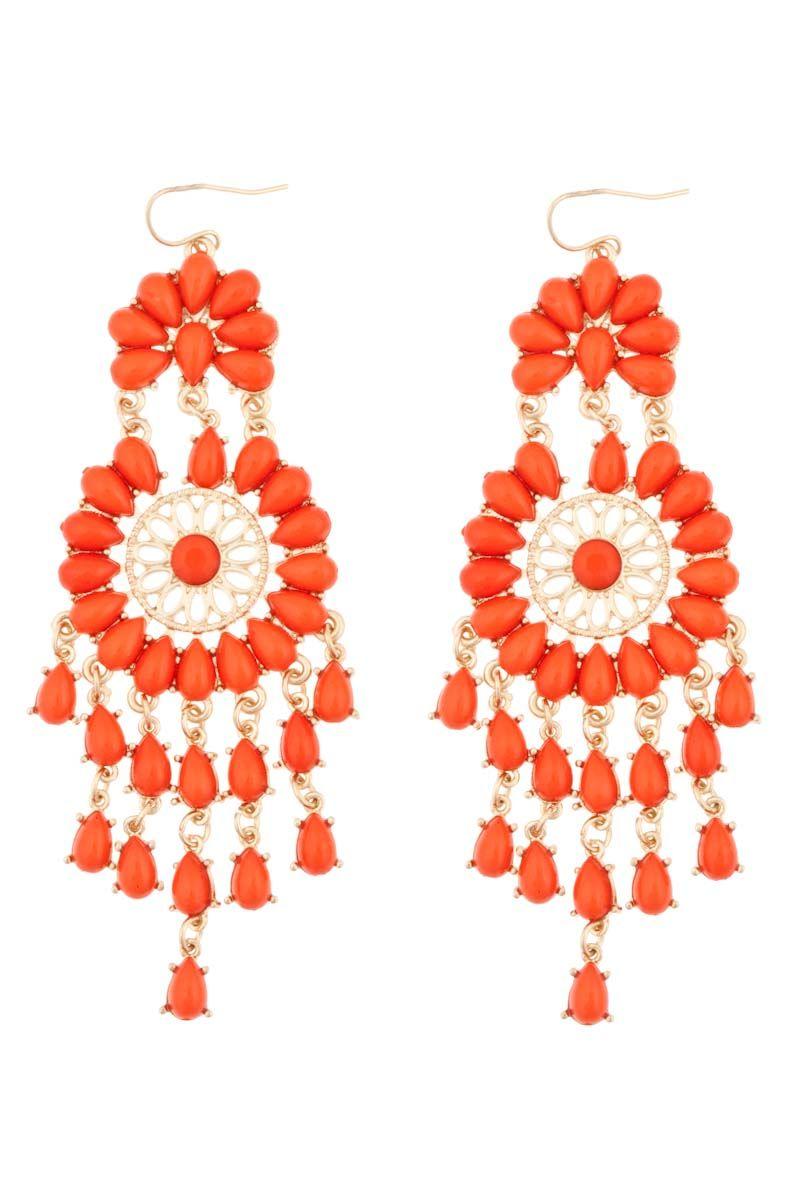 29 95 Flamenco Chandelier Earrings