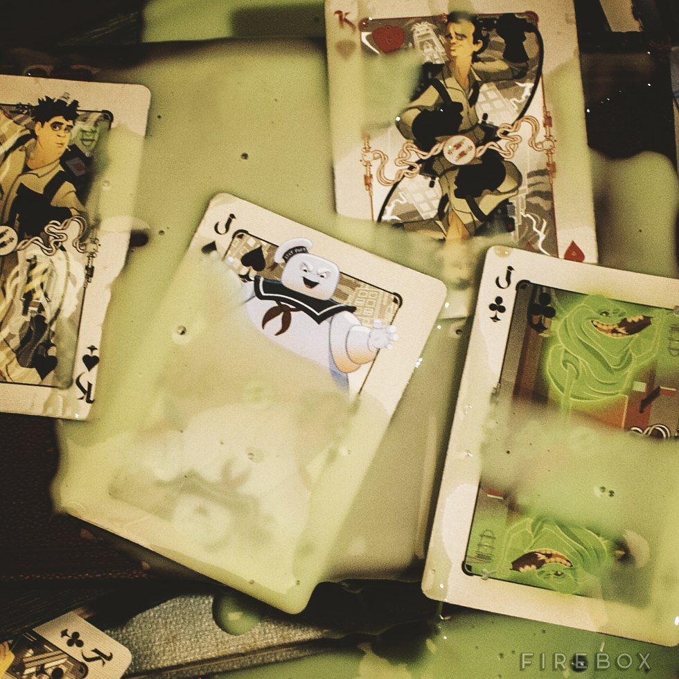Ghostbusters Playing Cards (With images) Cool playing cards