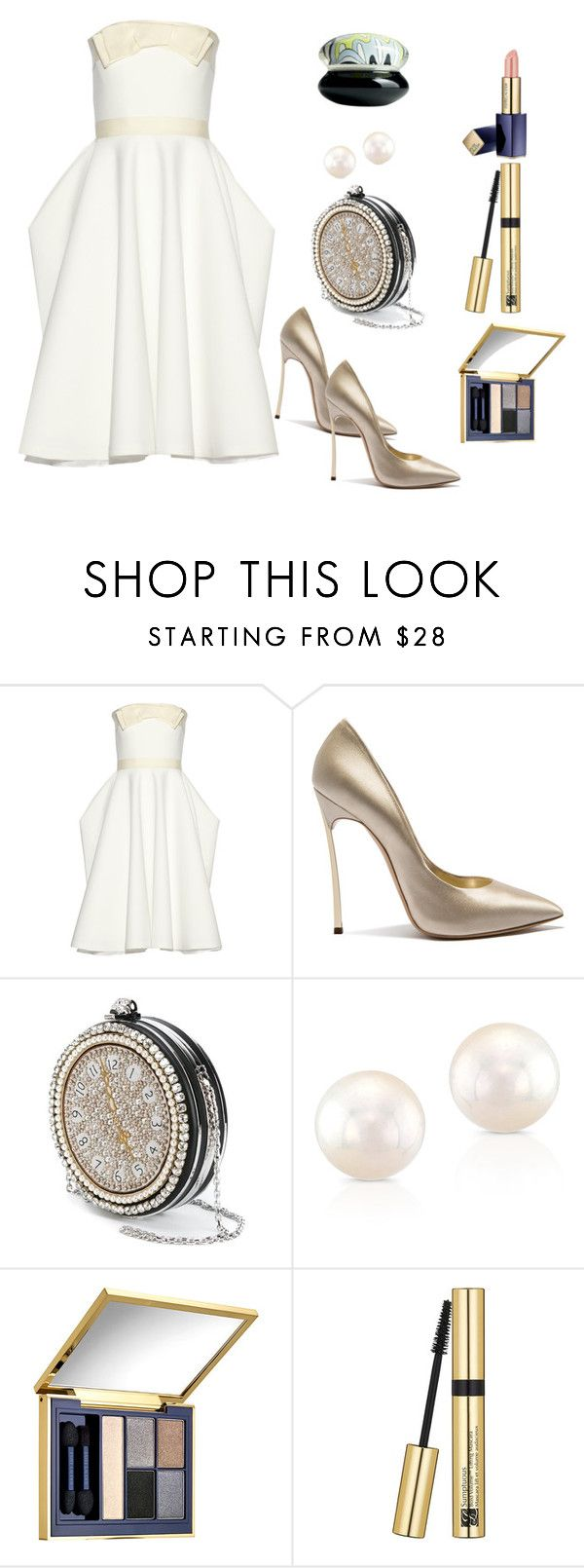 """Untitled #442"" by alexandraspring98 ❤ liked on Polyvore featuring Lanvin, Casadei, Alexander McQueen, Anne Sisteron and Estée Lauder"