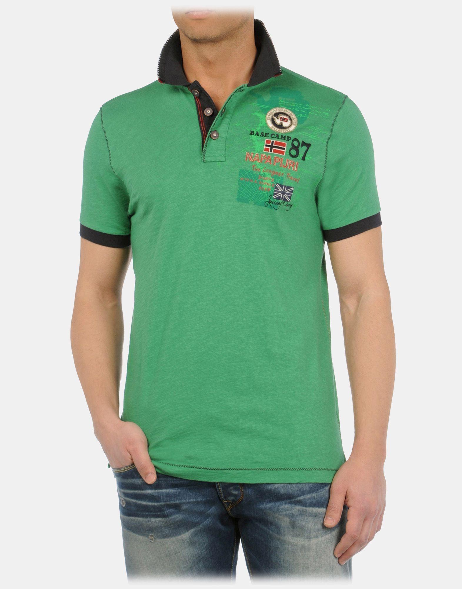 Napapijri Men Polo Shirt Official Online Store My Style