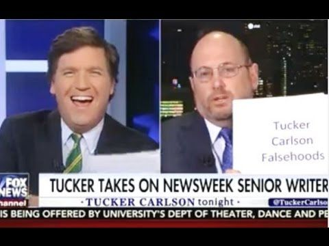 Tucker Carlson GRILLS NewsWeek editor who falsely claimed Trump was in mental hospital - I Love My Freedom
