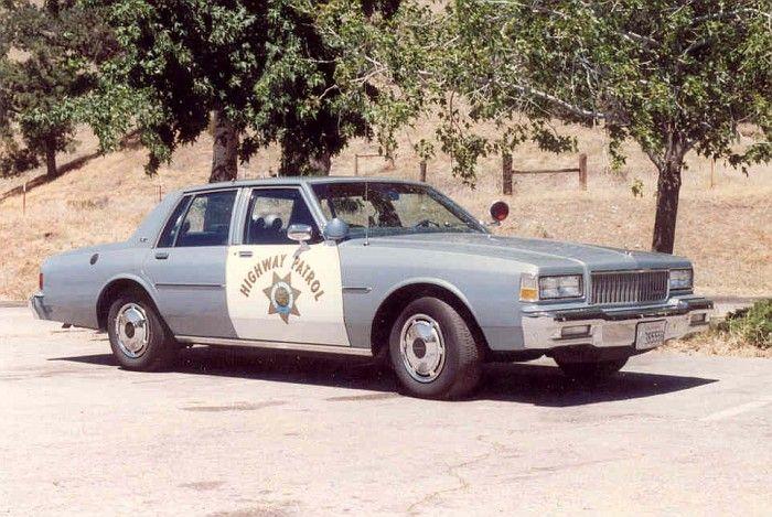 Chp 1989 Chevy Caprice 9c1 Antique Police Vehicles