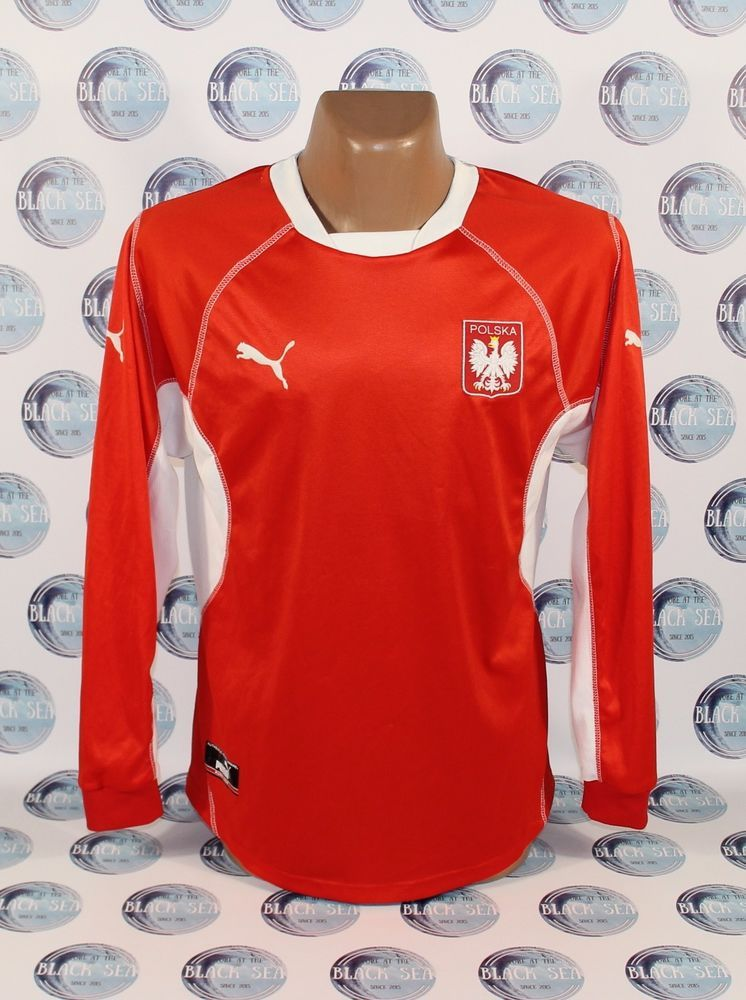 purchase cheap e5e74 84c50 POLAND NATIONAL TEAM 2002 2004 FOOTBALL SOCCER SHIRT JERSEY ...