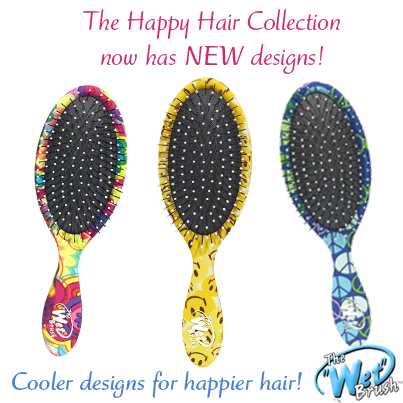The Wet Brush Happy Hair Collection: NEW DESIGNS!! • Super soft
